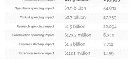 Impacts Created by NC's Pubilc Universities